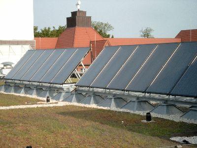 termische Solaranlage